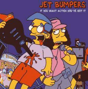 Cover - Jet Bumpers: If You Want Action You've Got It