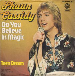 Cover - Shaun Cassidy: Do You Believe In Magic