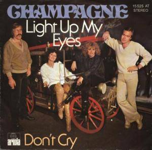 Cover - Champagne: Light Up My Eyes