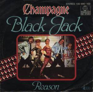 Cover - Champagne: Black Jack