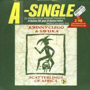 Cover - Johnny Clegg & Savuka: Scatterlings Of Africa