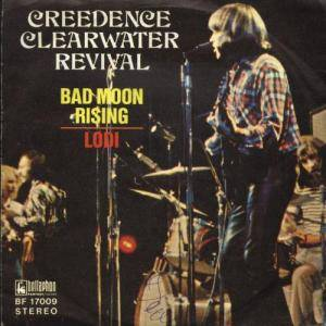 Creedence Clearwater Revival: Bad Moon Rising - Cover