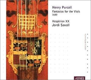 Henry Purcell: Fantasias For The Viols 1680 - Cover