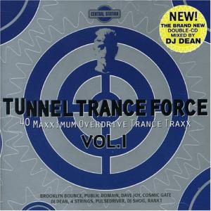 Tunnel Trance Force Australia Vol. 1 - Cover