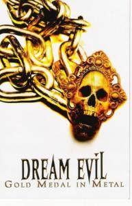 Dream Evil: Gold Medal In Metal - Cover