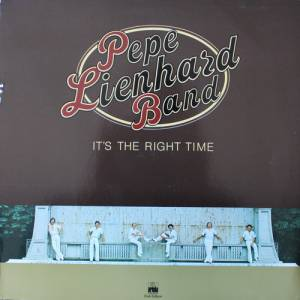 Cover - Pepe Lienhard Band: It's The Right Time