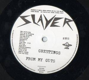 Slayer: Greetings From My Guts (LP) - Bild 3