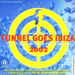 Tunnel Goes Ibiza 2002 - Cover