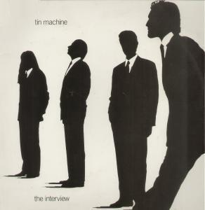 Tin Machine: Interview, The - Cover