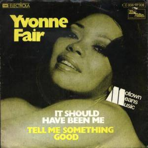Cover - Yvonne Fair: It Should Have Been Me