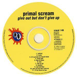 Primal Scream: Give Out But Don't Give Up (CD) - Bild 8