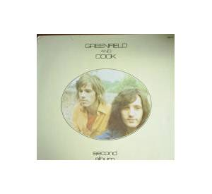 Cover - Greenfield And Cook: Second Album