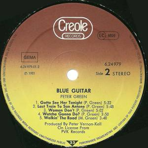 Peter Green: Blue Guitar (LP) - Bild 4