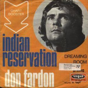 Don Fardon: Indian Reservation - Cover