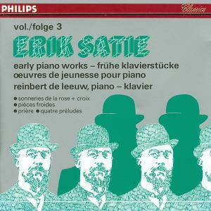Erik Satie: Early Piano Works Vol. 3 - Cover