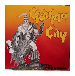 Gotham City: Unknown, The - Cover
