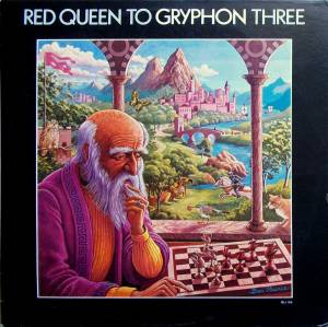 Gryphon: Red Queen To Gryphon Three - Cover