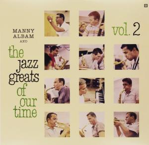 Manny Albam And The Jazz Greats Of Our Time vol. 2 - Cover