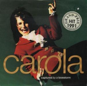 Carola: Captured By A Lovestorm - Cover