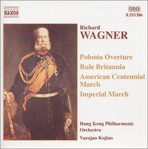 Richard Wagner: Marches & Overtures - Cover