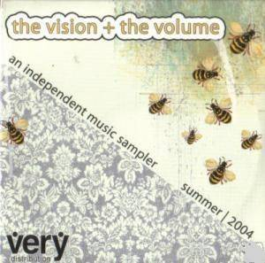 Vision + The Volume: an independent music sampler summer | 2004, The - Cover