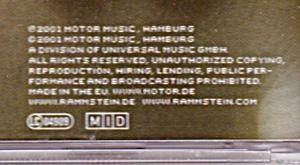 Rammstein: Mutter (CD) - Bild 4