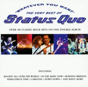 Status Quo: Whatever You Want - The Very Best Of - Cover