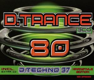D.Trance 80 Incl. D.Techno 37 - Cover