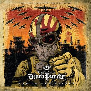 Five Finger Death Punch: War Is The Answer - Cover