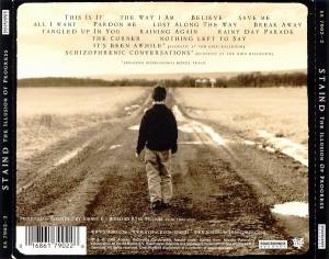 Staind: The Illusion Of Progress (CD) - Bild 2