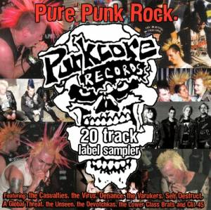 Cover - Self Destruct: Pure Punk Rock - Punk Core Records Sampler #1