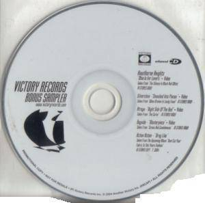 Cover - Action Action: Victory Records Bonus Sampler