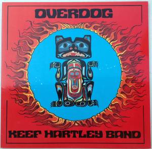 Keef Hartley Band: Overdog - Cover