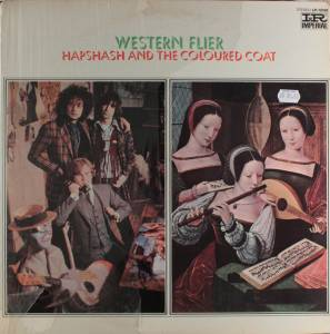 Hapshash And The Coloured Coat: Western Flier - Cover