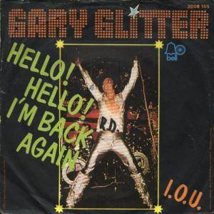 Gary Glitter: Hello! Hello! I'm Back Again - Cover