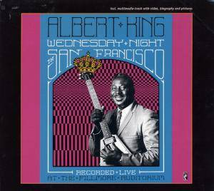 Albert King: Wednesday Night In San Francisco - Cover