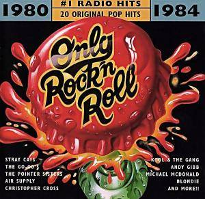 Cover - Grover Washington Jr. & Bill Withers: # 1 Radio Hits - Only Rock'n Roll  1980-1984