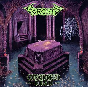 Gorguts: Considered Dead - Cover