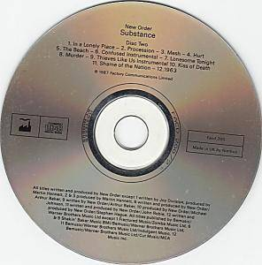 New Order: Substance 1987 (2-CD) - Bild 5