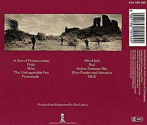 U2: The Unforgettable Fire (CD) - Bild 2