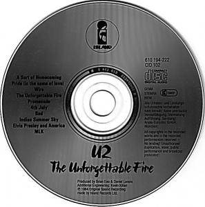 U2: The Unforgettable Fire (CD) - Bild 3