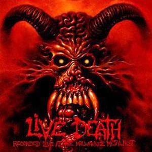 Suffocation: Live Death - Cover
