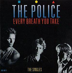 The Police: Every Breath You Take - The Singles - Cover