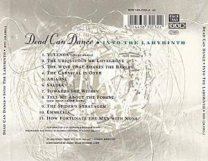 Dead Can Dance: Into The Labyrinth (CD) - Bild 2