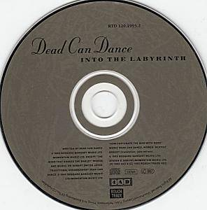 Dead Can Dance: Into The Labyrinth (CD) - Bild 3