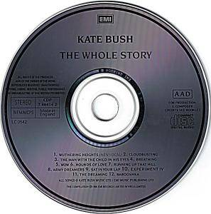 Kate Bush: The Whole Story (CD) - Bild 3