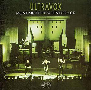 Ultravox: Monument - The Soundtrack - Cover
