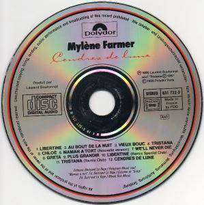 Mylène Farmer: Cendres De Lune (CD) - Bild 5