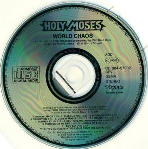 Holy Moses: World Chaos (CD) - Bild 4