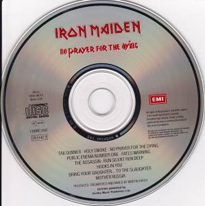 Iron Maiden: No Prayer For The Dying (CD) - Bild 4
